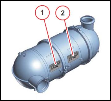 Pakokaasupuhdistus numero sijainti 7.8 Stage IIIB 2