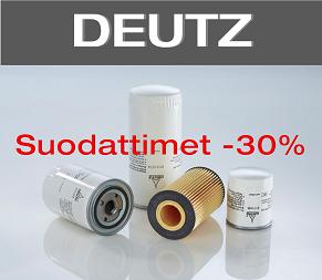 Deutz suodattimet -30%