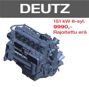 Rajoitettu erikoiserä dieselmoottoreita