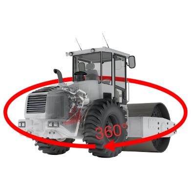 DEUTZ 360° Moottoritarkastus