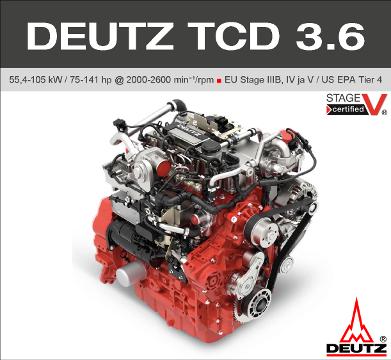 DEUTZ TCD 3.6
