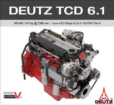 DEUTZ TCD 6.1