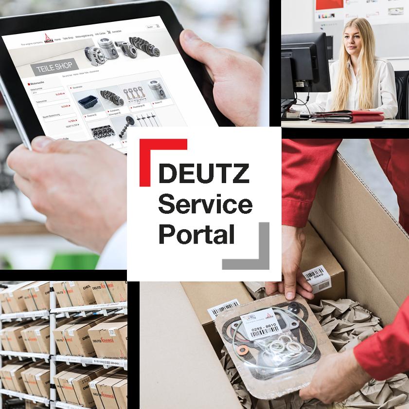 Klikkaa tästä DEUTZ Service Portal -Verkkokauppaan!