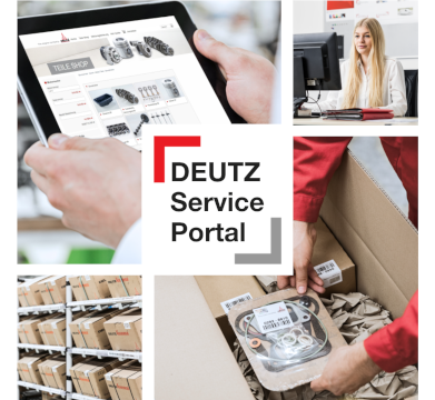 DEUTZ Service Portal -verkkokauppa ja tietokeskus