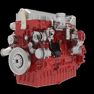 Deutzin uusi 18-litrainen suora kuusisylinterinen, turboahdettu TCD -moottori tarjoaa 565-620 kW tehon ja 3600 Nm maksimiväännön.