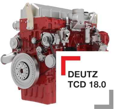 Uutta dieselmoottoritekniikkaa TCD 18.0