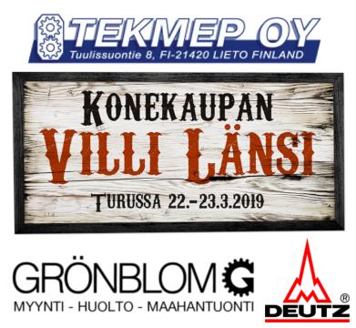 Grönblom Villissä Lännessä 2019
